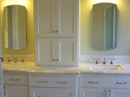 double vanity with top. Best Home: Minimalist Bathroom Vanity With Storage Tower On Vanities Towers From Double Top .