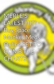 Merles Latest Hit Buy Space Monkey Meds Online Set To