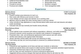 Fedex Courier Resume Sample Reentrycorps