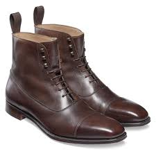 details about brown chelsea boots ankle high leather boot men dress cap toe chelsea boots