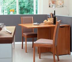 space saver dining table wood