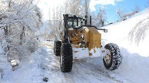 yoğun kar yağışı nedeniyle kapanan 209 köy yol ile ilgili görsel sonucu