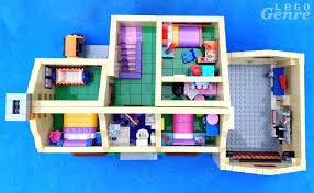 legogenre the simpsons house review floorplan 71006