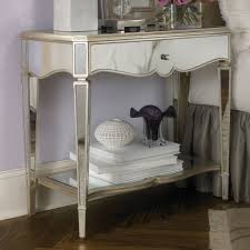 fabulous mirrored furniture. Fabulous Mirrored Glass Nightstand Best Bedroom Furniture Plans With Digitalliteracyco S