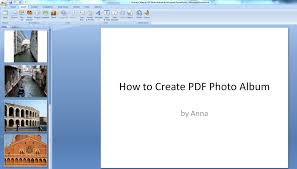 powerpoint photo albums how to create a digital photo album in microsoft powerpoint