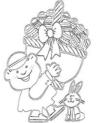 Easter Eggs Coloring Page For Kids Free Printable Picture