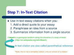 Ppt Writing A Compare And Contrast Essay With In Text Citations