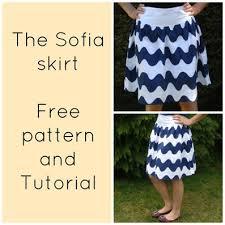 Free Skirt Patterns Mesmerizing Free Sewing Pattern For Women Skirt Sofia Skirt For Women FREE