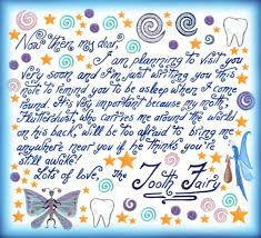 tooth fairy note make sure youre asleep