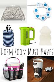 dorm room musthaves for your new college student mom