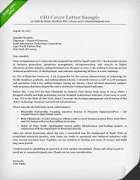 Executive Cover Letters Samples Cio Cover Letter Zlatan Fontanacountryinn Com
