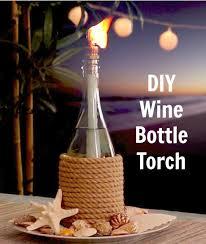 lighting tiki torches. wine bottle tiki torch oil lamp httpwwwcompletelycoastal lighting torches