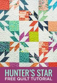 New Friday Tutorial: The Hunter's Star Quilt &  Adamdwight.com