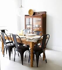 farmhouse table with metal chairs lovely best 25 metal dining chairs ideas on of farmhouse