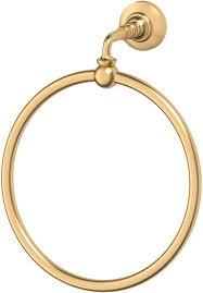 """<b>Кольцо</b> для <b>полотенца 3SC</b> """"Stilmar"""", цвет: матовое золото. STI 310"""