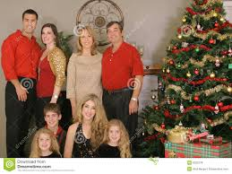 Christmas Family Photo Merry Christmas Family And Children Royalty Free Stock Images