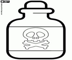 Kleurplaat Toxische En Gevaarlijke Chemische Product Kleurplaten
