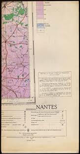 Sectional Aeronautical Chart Legend Sectional Aeronautical Chart Map Nantes France 1942 At