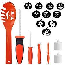 pumpkin carving tools for kids. skinosm thanksgiving pumpkin carving kit for kids 5 easy halloween tools set 2 led r