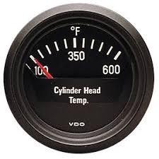 amazon com vdo 310901 cockpit style cylinder head temperature amazon com vdo 310901 cockpit style cylinder head temperature gauge 2 1 16