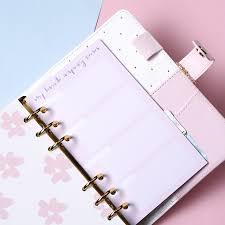 Dokibook 2019 Planner Refill Notebook Inner Paper For Spiral Planner