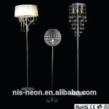 crystal drop wedding centerpiece standing chandelier floor lamp lamps