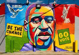 George Floyd Mural Encourages People ...