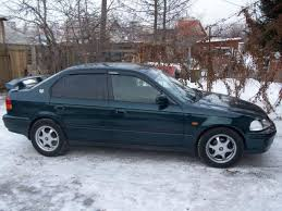 1996 Honda Civic Ferio Pictures, 1500cc., Gasoline, FF, CVT For Sale