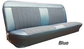 1969 72 chevy gmc truck houndstooth bench seat cover 3inch pleats with horizontal