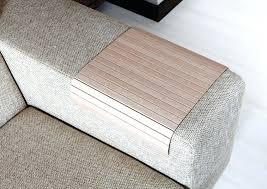 sofa armrest table get ations a sofa tray table oak tree sofa arm tray armrest tray