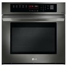 electric wall oven professional front 27 inch