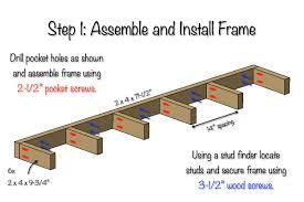 diy floating shelves free plans step 1 build floating shelves