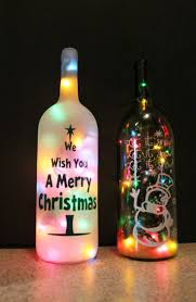 Our unique lighted wine bottles make a beautiful accent to any room,  business, or