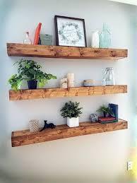 DIY Primitive Floating Bookshelves Check out the full project http://ift.tt