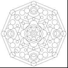 Sacred Geometry Coloring Book Free Geometric Coloring Pages