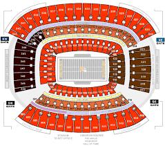 Firstenergy Stadium Concert Seating Chart Factual First Energy Stadium Seating Chart Cleveland Browns