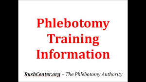 Phlebotomy Training Get Phlebotomy Training Information Here