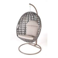 mimosa deluxe wicker hanging egg chair i n 3191320 bunnings warehouse