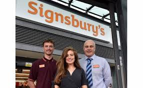 Sainsburys Book Chart Welcome To Signsburys Sainsburys Unveils Uks First