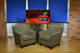 Tv studio furniture Broadcast Console Rolling Panel System Set Background Tv Studio Uniset Wctv Wilmington Community Newscaststudio Fully Manufactured And Prefinished Studio Sets Rochester Ny