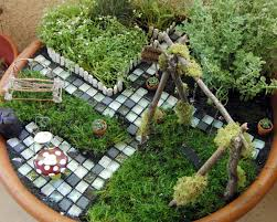 how to build a fairy garden. we how to build a fairy garden