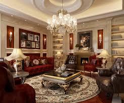 model living room. luxury living room 3d model max 1