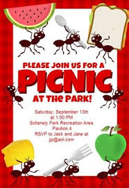 Picnic Invitations Templates Free