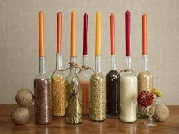 Wine Bottles Decoration Ideas Thanksgiving Centerpieces and Decorating Ideas Food Network 27