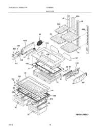 parts for electrolux ei28bs56is3 refrigerator appliancepartspros com Electrolux Vacuum Cleaner Parts Diagram at Electrolux Ei28bs56is3 Wiring Diagram