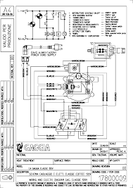 gaggia classic electrical wiring diagram service manual 1st page