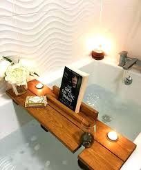 clawfoot tub tray tub tray bath bath shelf mothers day gift birthday gift pamper spa home