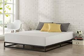 Zinus Joesph Modern Studio 6 Inch Platforma Low Profile Bed Frame / Mattress Foundation / Boxspring Optional / Wood slat support, Queen