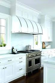 oven vent hood. Metal Vent Hood White Barrel Kitchen With Stainless Steel Within Oven