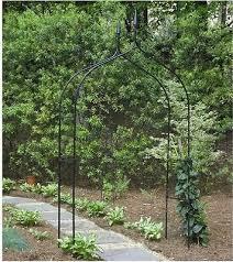 home garden wedding arbor ivy trellis